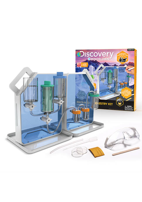 Discovery Mindblown Toy Chemistry Pack-N-Go Experiment Set