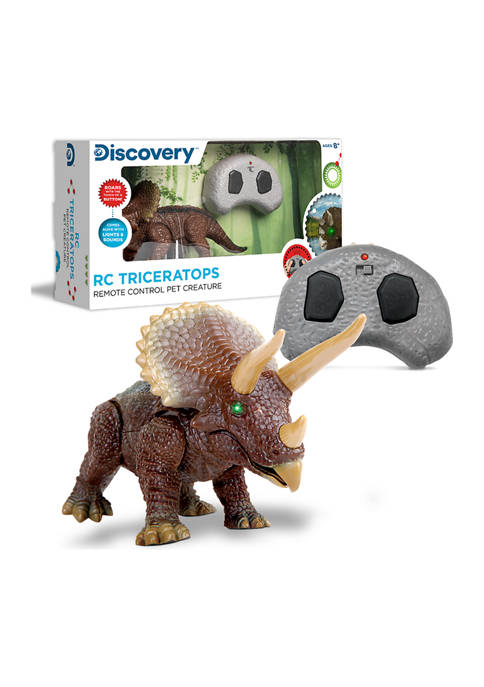 Discovery Mindblown Toy Triceratops