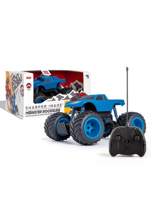 Sharper Image Remote Control Mini Monster Rockslide Truck,
