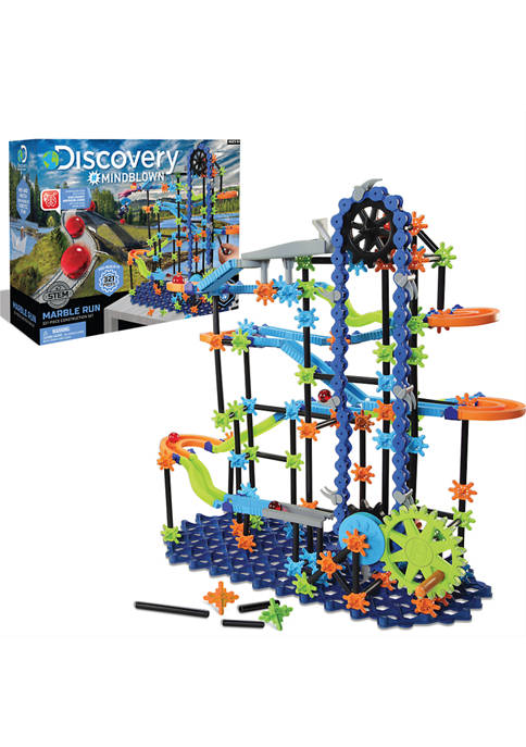 Discovery Mindblown Toy Marble Run 321 Piece