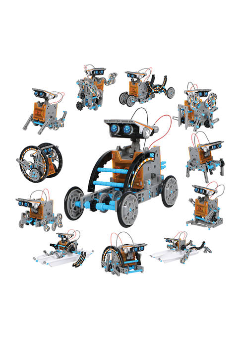 Discovery Mindblown STEM 12-in-1 Solar Robot Creation 190-Piece