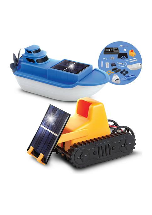 Discovery Mindblown DIY STEM Solar Land and Sea