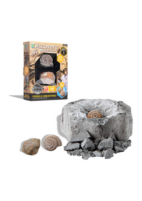 Discovery Mindblown Mini Fossil Dig Set 2 Pack
