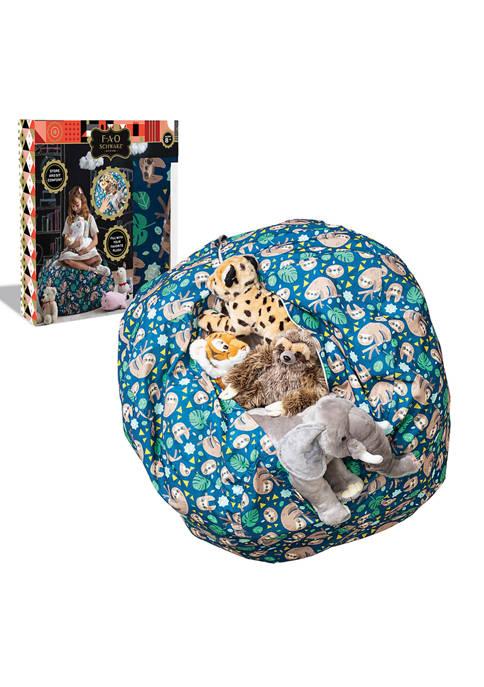 FAO Schwarz Cozy Comfort Plush Stuffed Animal Storage