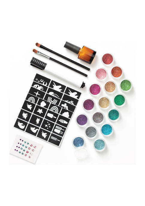 FAO Schwarz DIY Temporary Glitter Tattoo Set