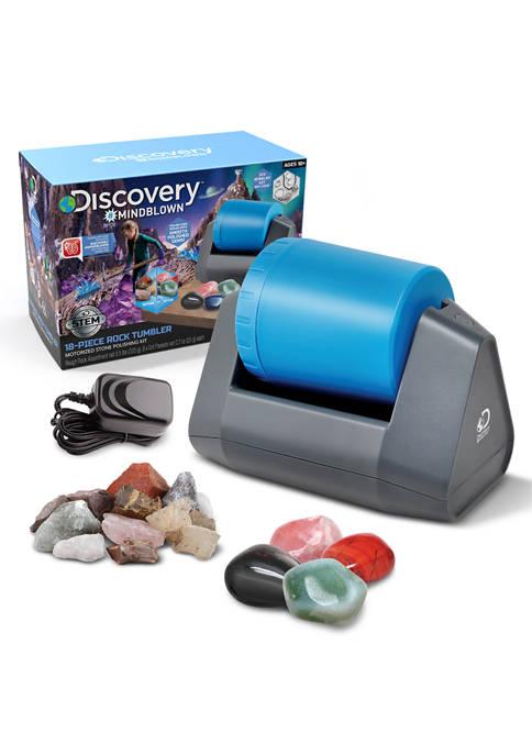 Discovery Mindblown Toy Kids Rock Tumbler 18 Piece