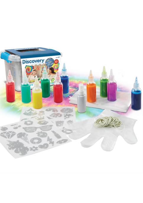 Discovery Kids 145 Piece Tie Dye Set