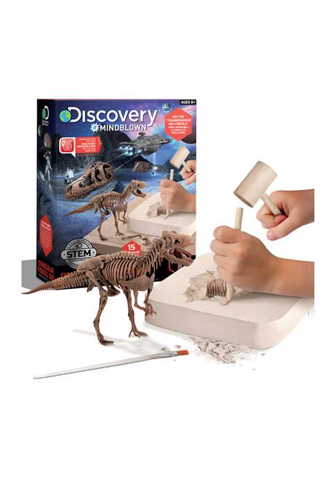 Discovery Mindblown 15 Piece 3D Dinosaur Excavation Kit