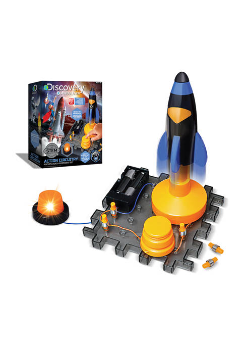 Discovery Mindblown Toy Circuitry Action Experiment Rocket Launch