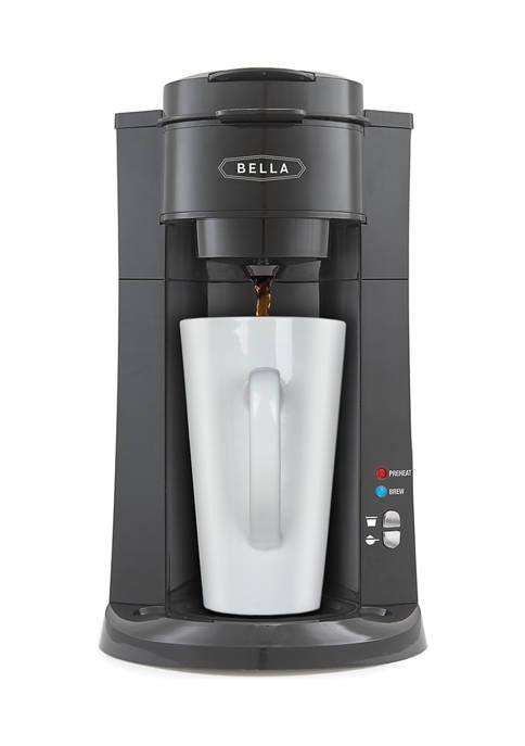 Bella® Dual Brew Single Serve Coffee Maker
