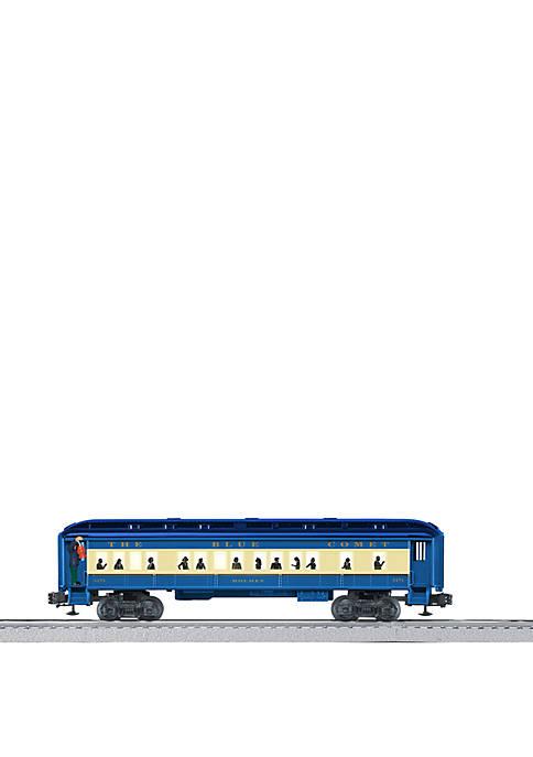 Blue Comet O Gauge Model Train Coach Car