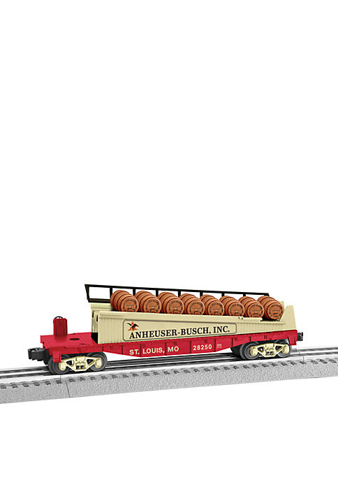 Lionel Trains Anheuser Busch Barrel O Gauge Model