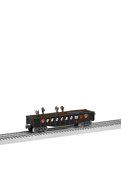 End of the Line Undead O Gauge Model Train Gondola