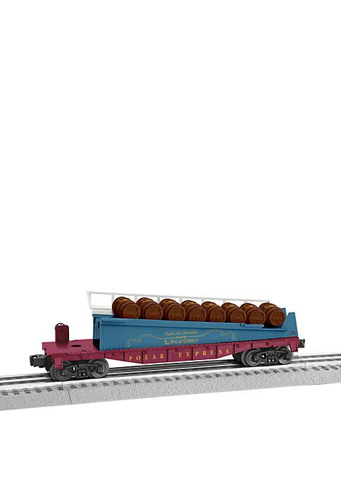 The Polar Express Barrel O Gauge Model Train Ramp Car