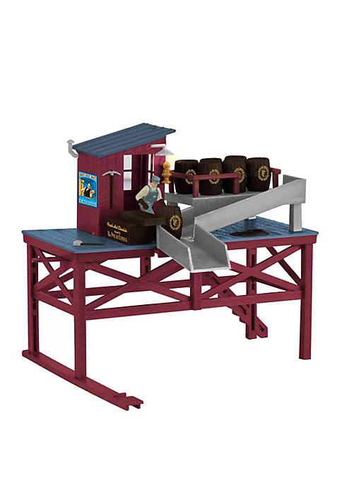 The Polar Express Plug Expand Play Barrel Loading O Gauge Building Model Train Operating Accessory