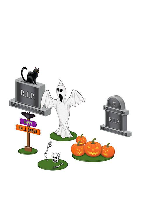 Halloween 6 Piece Lawn Figure Pack