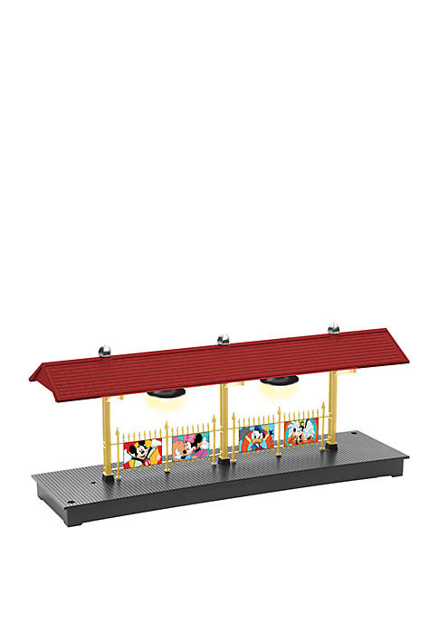 Lionel Trains Disney Illuminated O Gauge Station Platform
