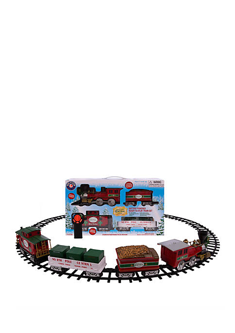 Lionel Trains North Pole Central Battery Powered Model