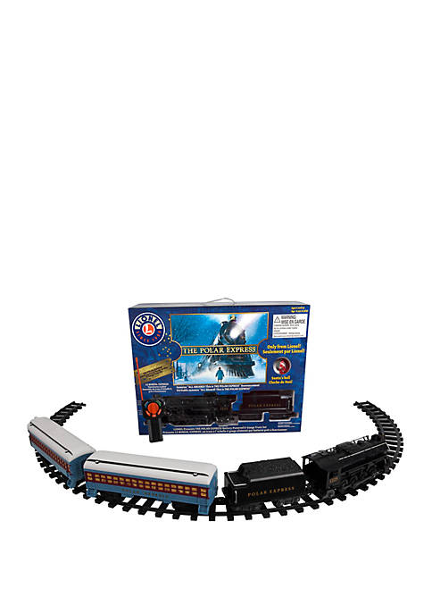 The Polar Express Battery-powered Model Train Set Ready to Play with Remote