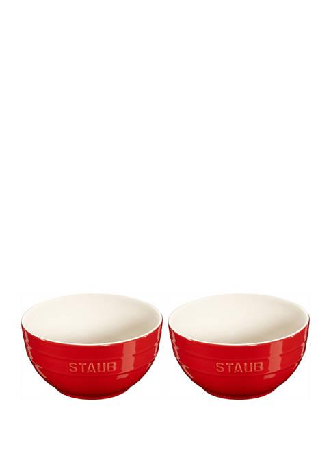Staub 2 Piece Large Universal Bowl Set