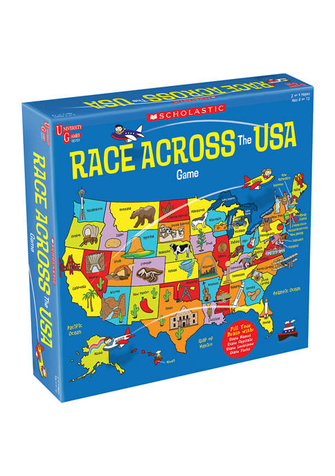 Scholastic - Race Across the USA Kids Game