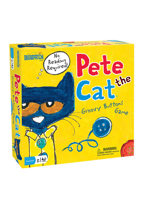 Pete the Cat Groovy Buttons Kids Game