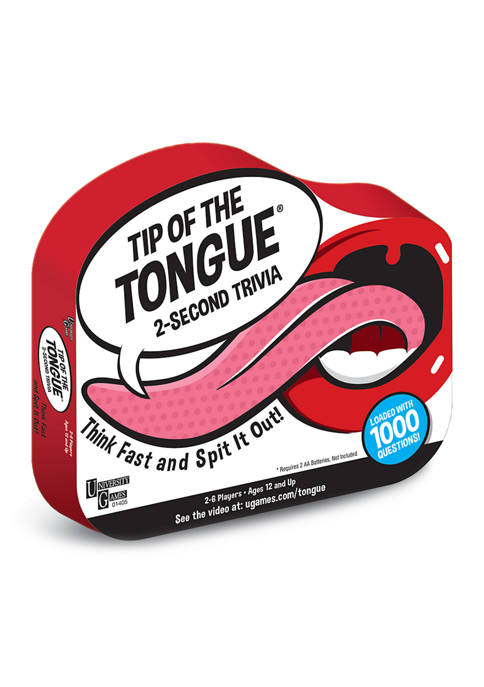 Tip of the Tongue Family Game