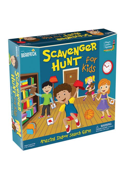 Scavenger Hunt for Kids Board Game