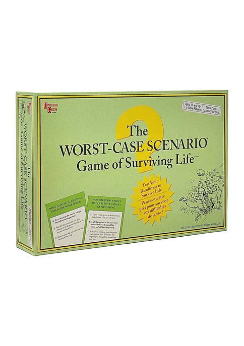 The Worst-Case Scenario Game of Surviving Life