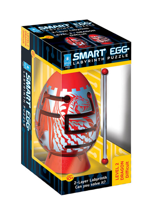 BePuzzled Smart Egg 2 Layer Labyrinth Puzzle