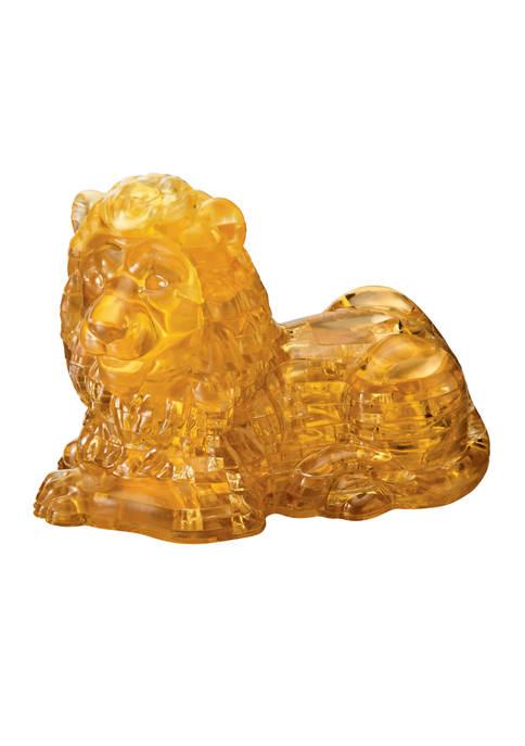 3D Crystal Puzzle - Lion: 96 Pieces
