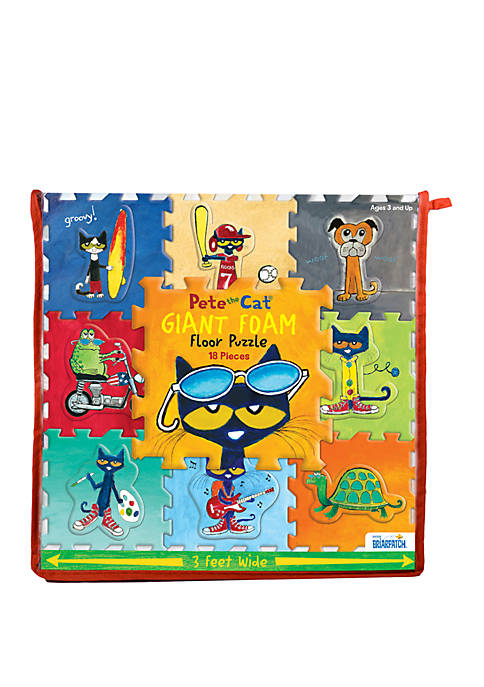 BePuzzled 18 Piece Pete The Cat Giant Foam