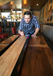 Table Top Shuffleboard Skill Game