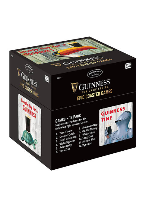 Guinness Pub Game Series - Epic Coaster Games