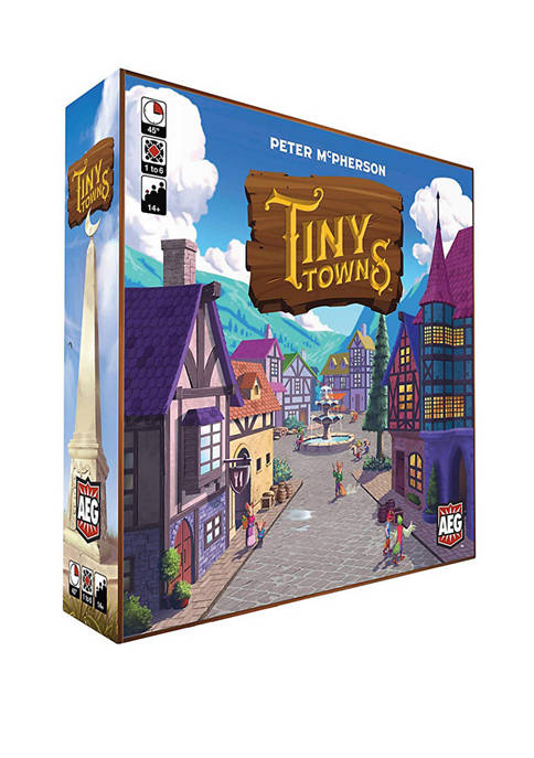 Alderac Entertainment Group Tiny Towns Strategy Game