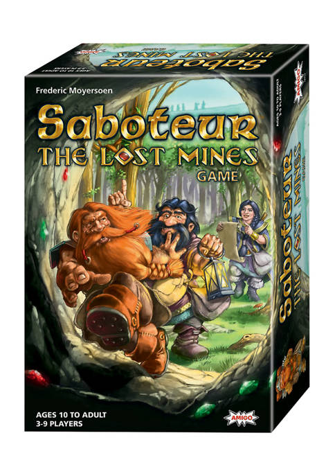 Amigo Saboteur: The Lost Mines Game