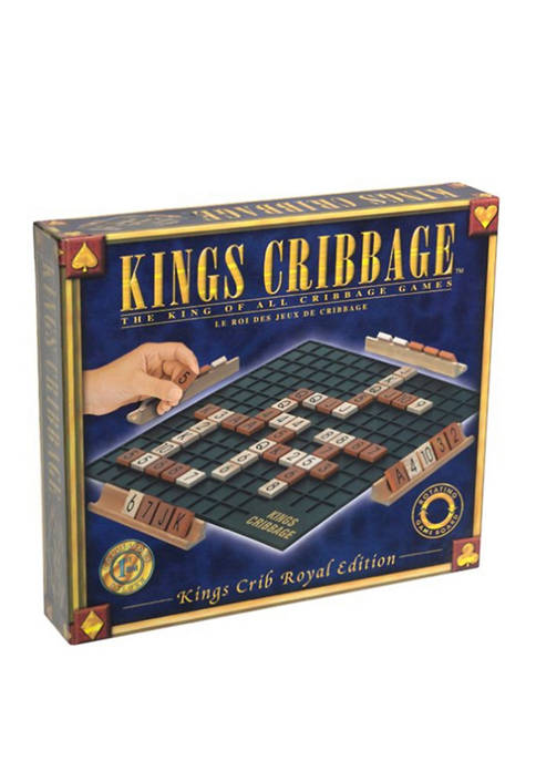 Kings Cribbage - Royal Edition Strategy Game