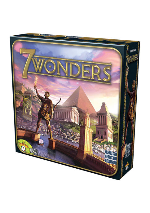 Asmodee Editions 7 Wonders Strategy Game