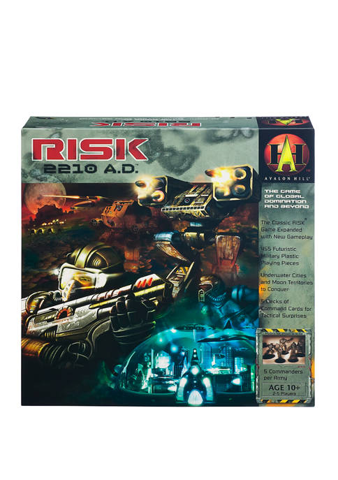 Risk 2210 AD Strategy Game