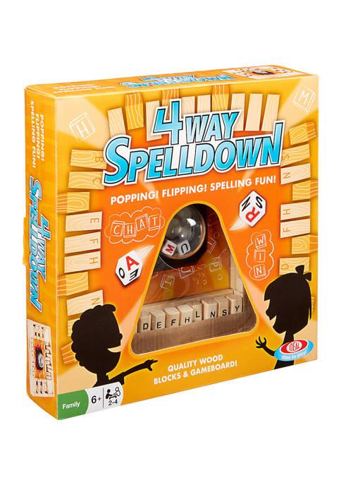 Ideal 4 Way Spelldown Game