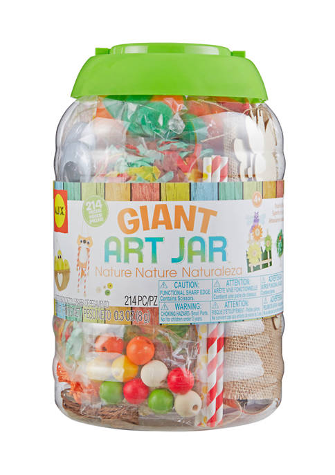 Giant Art Jar - Nature