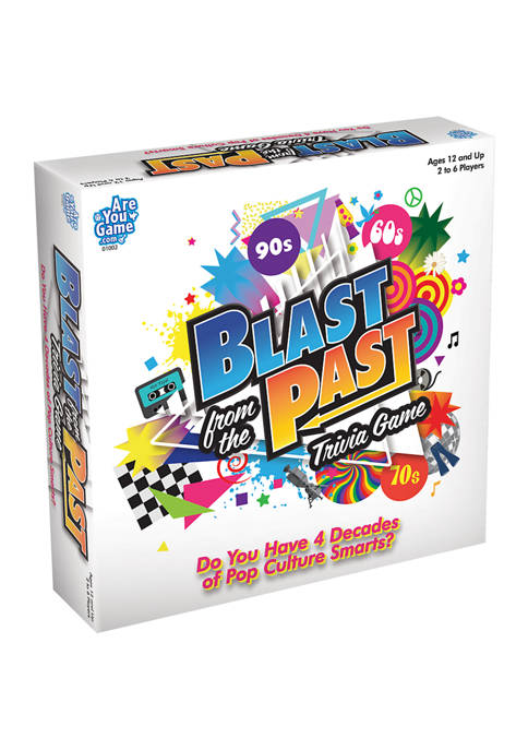 AreYouGame.com Blast from the Past Trivia Game