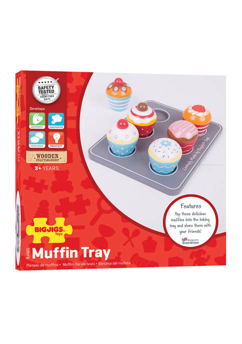 Wooden Muffin Tray