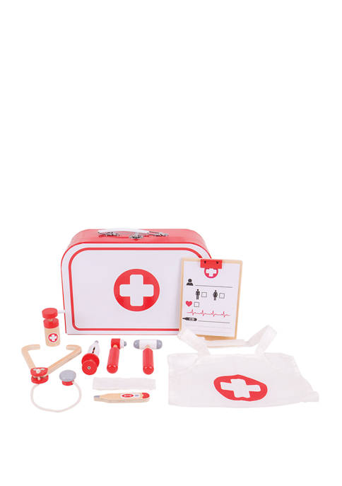 Bigjigs Toys Wooden Doctors Kit