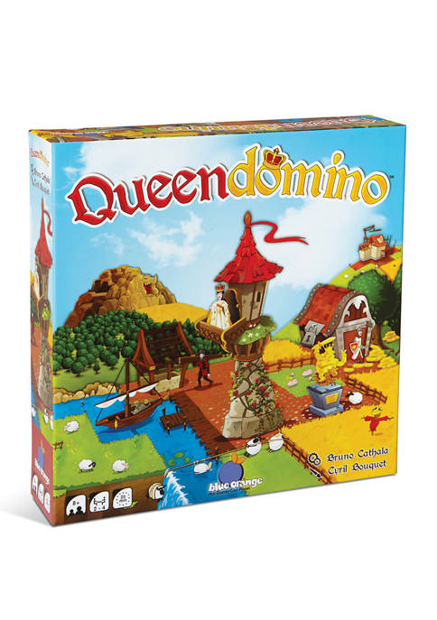 Blue Orange Games Queendomino Strategy Game