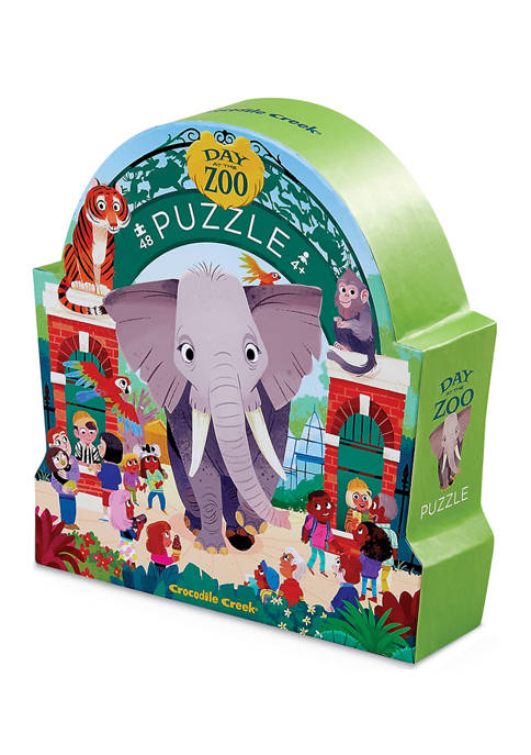 Day at the Zoo Puzzle: 48 Pieces