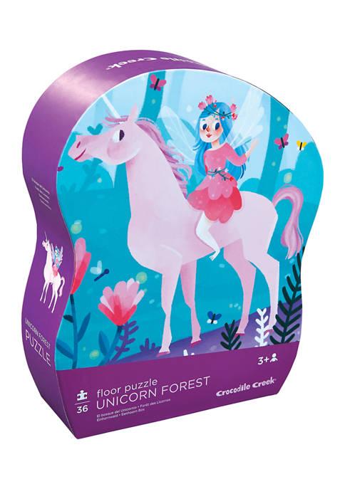 Unicorn Forest Floor Puzzle: 36 Pieces