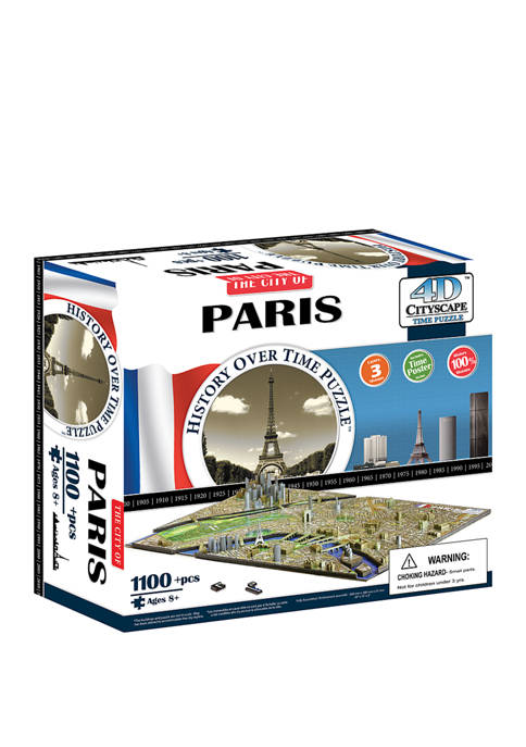 4D Cityscape Time Puzzle