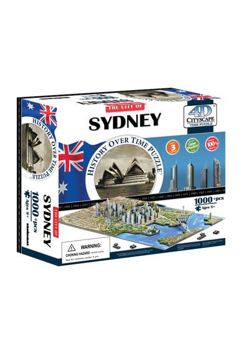 4D Cityscape Time Puzzle - Sydney, Australia