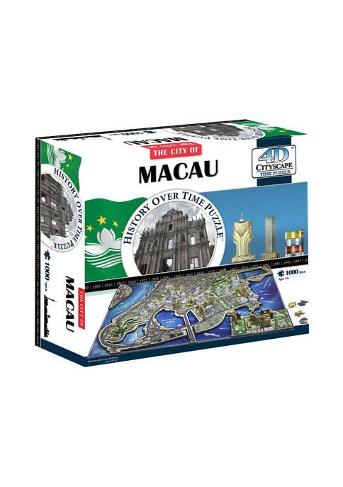 4D Cityscape 1000 Piece Time Puzzle